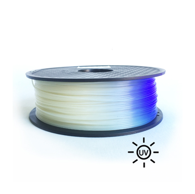PLA1.75UV-White to Blue