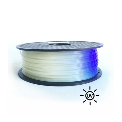 PLA1.75-500-UV-White to Blue