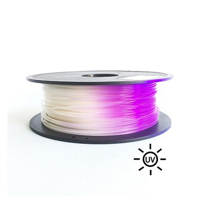 PLA1.75-500-UV-White to Purple